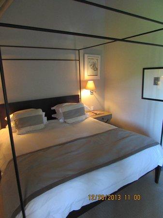 Le Franschhoek Hotel & Spa: comfortable bed