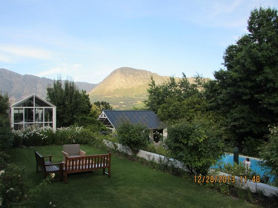 Le Franschhoek Hotel & Spa: view from room