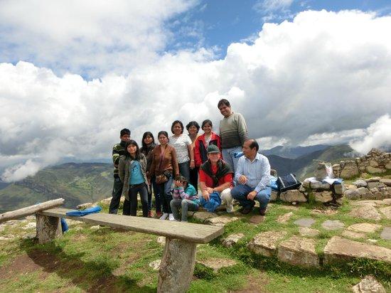 Hostal Nunurco Travellers: paisaje de Kuelap