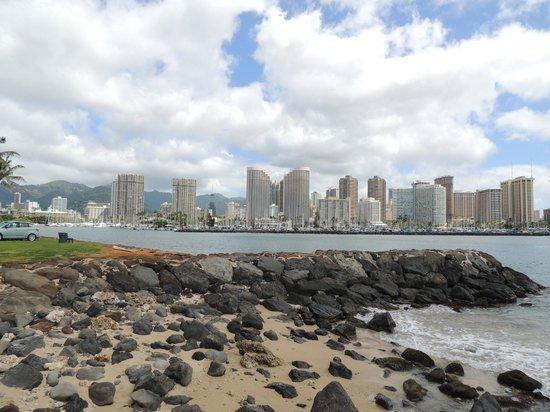 Ala Moana Beach Park: Gorgeous view of the Ala Wai Harbor