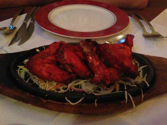 Taj Mahal : Tandoori Chicken Wings