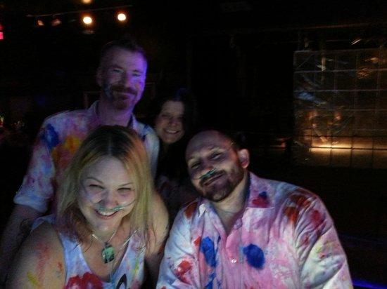 Drip: Group at Oxygen bar