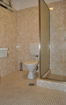 Hillcrest Motor Inn : standard bathroom