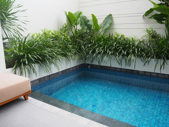 The Magani Hotel and Spa: Our private pool