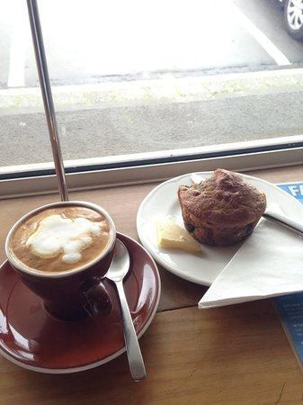 Eat Deli & Bar: Great Coffee and Muffin - Consistent Quality