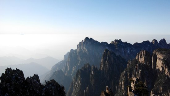 Mt. Huangshan (Yellow Mountain): One of many gorgeous views!