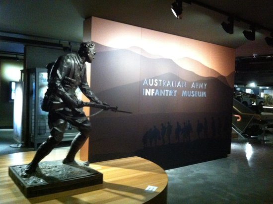 Singleton, Australia: Entrance to the museum