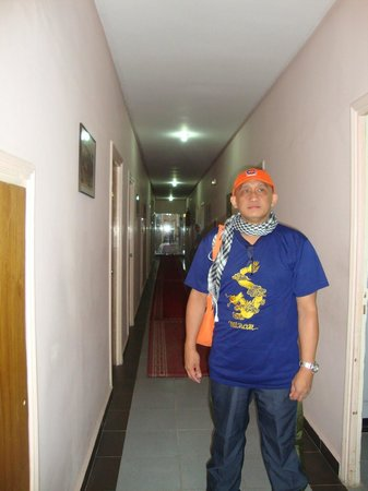 Hotel Balima : Corridor