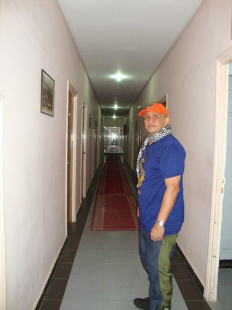Hotel Balima : Corridor Leading to my room