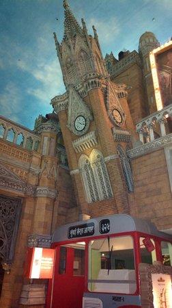 Kingdom of Dreams: an ATM inside a Mumbai BEST bus model