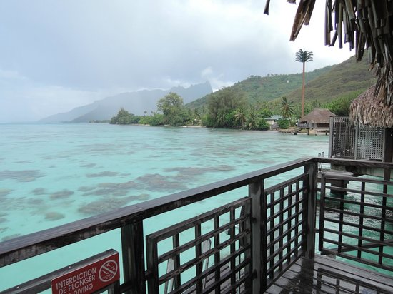 Hilton Moorea Lagoon Resort & Spa: View from our room