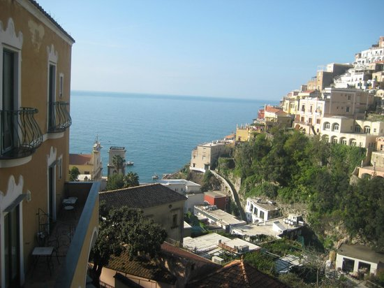 Hotel Savoia: I had 3 little terraces