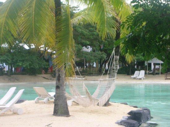 Plantation Bay Resort And Spa : Lagoon by day