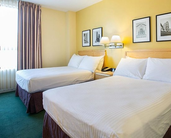 Hotel Bijou : two double beds