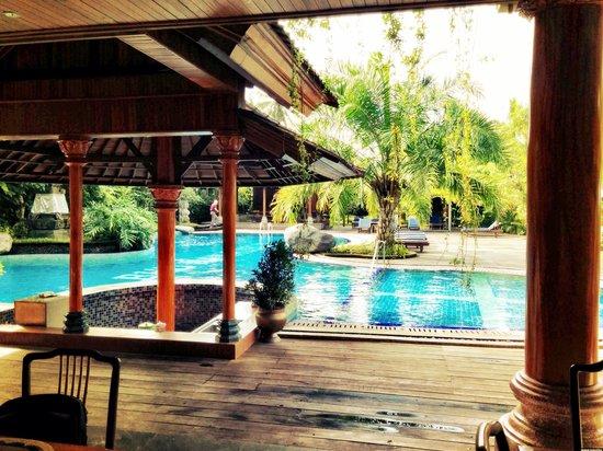 Bhuwana Ubud Hotel : View from the dining room.