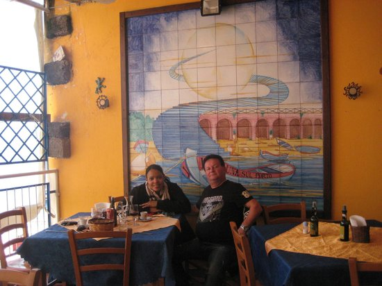 Ustica: A lovely rustic restaurant