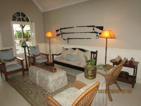andBeyond Kirkman's Kamp: lounge area