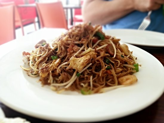 A Taste of Spice : Singapore noodles (recommended by Anil)