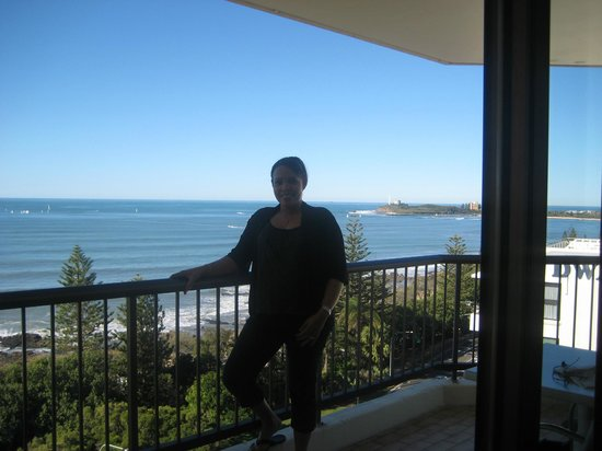 Seaview Resort : Balcony