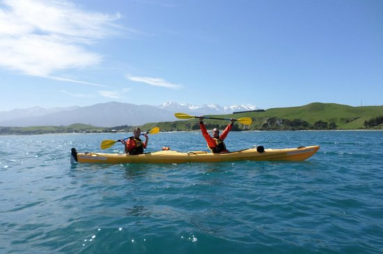 Kaikoura Kayaks: Rich and Mike