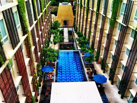 Ananta Legian Hotel : View from the roof