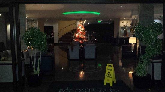 The Royal Corin Thermal Water Spa & Resort : Entrance