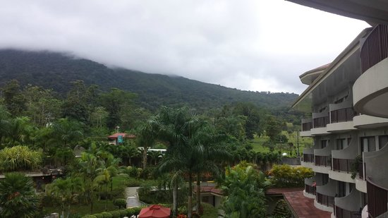 The Royal Corin Thermal Water Spa & Resort: View from the balcony