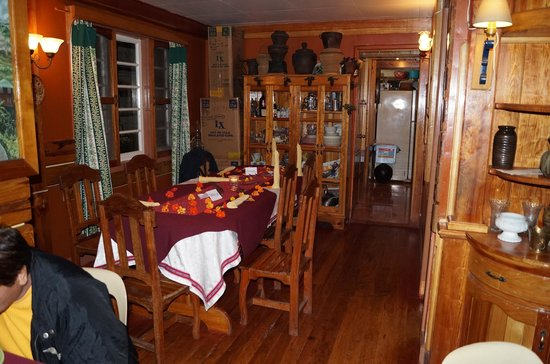 Log Cabin: Une table