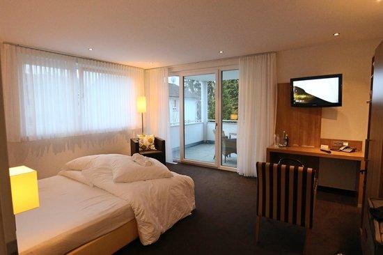 Hotel Go2Bed : Blick in das Zimmer