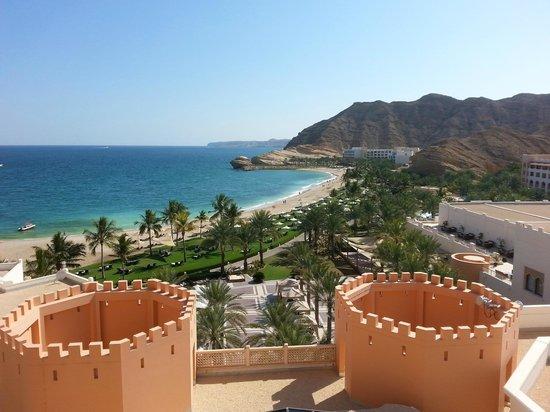 Shangri-La Al Husn Resort & Spa: View from Al Husn over resort
