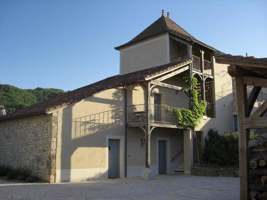 Hotel Le Saint Cirq : 宿泊棟