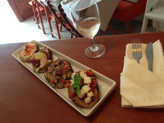 Gourmand Samui: Bruschetta