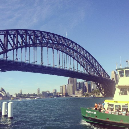 Run This Way -  Day Tours: Ferry return to Darling Harbour post Scenic Waterfront Run 7km