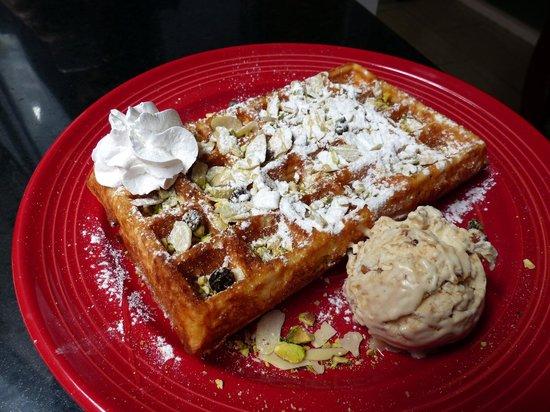 Green Waffle Diner on Graham Street