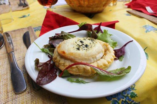 La Bergerie d'Eze: Onion Tart