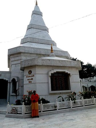 Ma Anandamayee Ashram: Samadhi sthal of the ma
