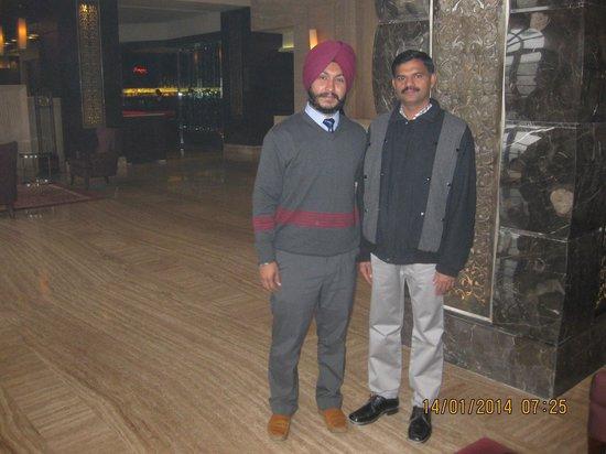 The Pllazio Hotel: At the lobby
