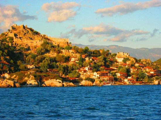 Castle of Simena: Kaleköy/Demre