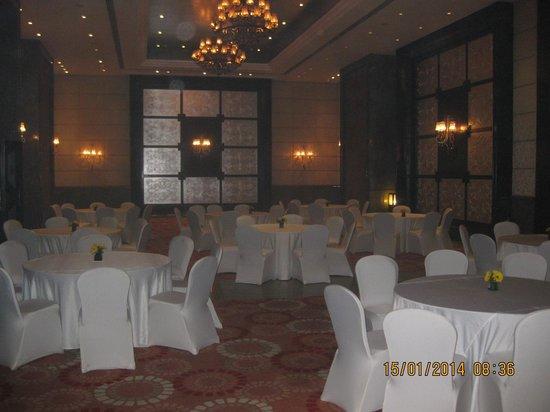 The Pllazio Hotel: The Main Banquet Hall...