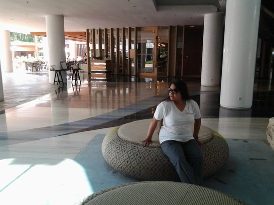 The Stones Hotel - Legian Bali, Autograph Collection: Relaxing in the lobby
