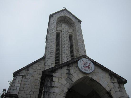 Holy Rosary Church Or the Stone Church : Stone Church, Sapa