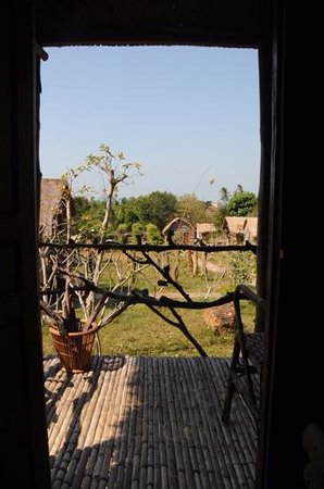 Tree Top Bungalows : view from our room!!