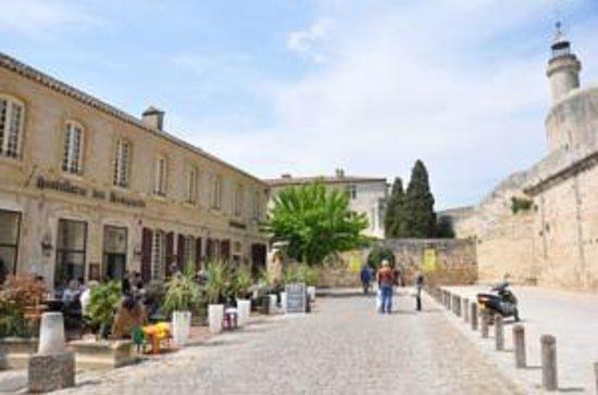 Les remparts : terrasse