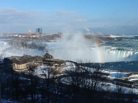 Niagara Falls Marriott Fallsview Hotel & Spa: vue de la chambre au 6 eme etage