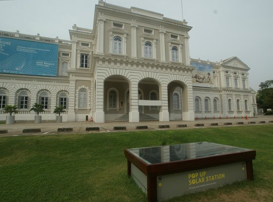 YMCA One Orchard: As a bonus,Singapore National Museum is just next door