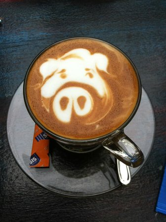 Intrepid Gastrobar: Piggy Latte!