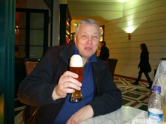 Hotel Italia: ужин с пивом