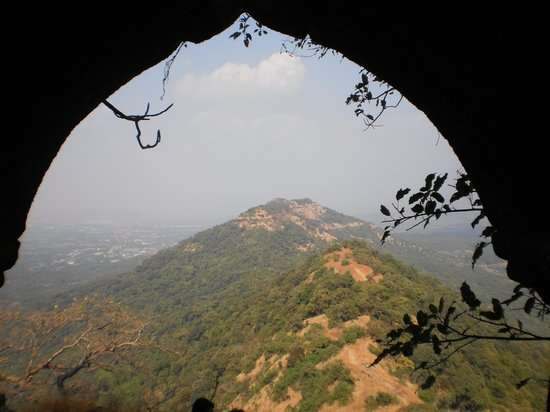 Karnala Fort: A View from the archway