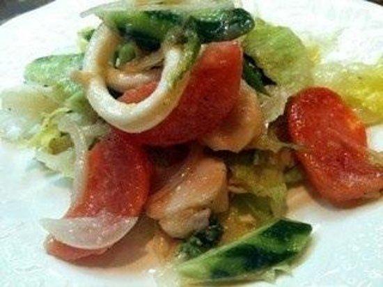 Tajima: シーフードサラダ