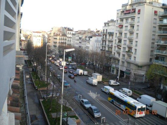 Hotel Lutetia: Марсель днем